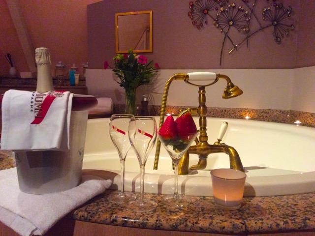 Nuit romantique hotel loheac