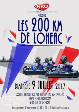 Les 200km de Lohéac @ ASK Lohéac