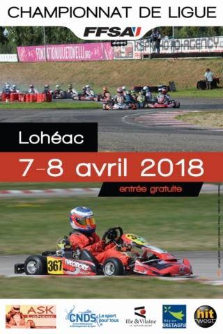 Championnat de ligue karting - Lohéac