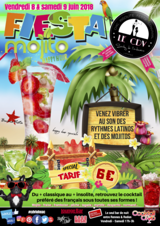 ★★ Fête nationale du Mojito ★★ Des mojitos à gogo au #cdvloheac @ Le CDV - Lounge & Cocktail Bar