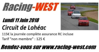 Racing-WEST ‎Sortie Circuit Lohéac @ Lohéac