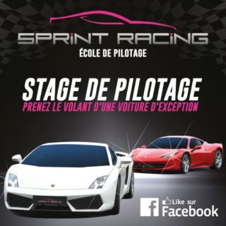 Stage de Pilotage Sprint racing sur le Circuit de Lohéac @ Circuit Asphalte Loheac