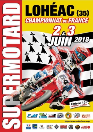 Championnat de France Supermotard @ pin ASK Lohéac